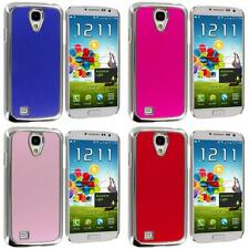 Color Brushed Aluminum Chrome Metal Luxury Case Cover for Samsung Galaxy S4 S IV