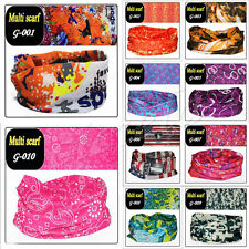 Hot Retro Multi Scarf Headware Neck Bandana Magic Wrap Tube Mask Cap Scarves