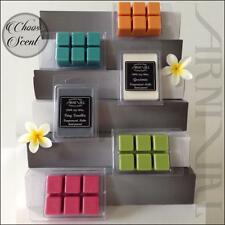 Highly Scented 100% SOY WAX MELTS online CANDLE TARTS FOR oil BURNERS 100hr burn