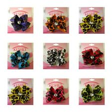 Girl's Bows Cute Grosgrain Hair Accessories Colorful Spotted Bow Hair Clips NEW!