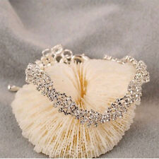 New Fashion Chic Gold Silver Plated Charming Clear Bracelet Jewelry Chain Hot