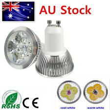 10PC12W(4X3W) 240V GU10 LED Downlights led globes Bulb Lamp Cool Warm Spot Light