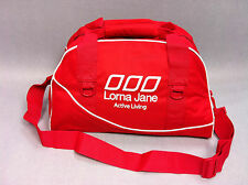 Special NWT Lorna Jane Sports Athletic Yoga Overnight Travel Bag Ruby RRP65.99