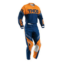 THOR Motocross trousers + Jersey 2016 - Phase Hyperion - navy-orange