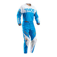 THOR Motocross trousers + Jersey 2016 - Phase Hyperion - blue-white