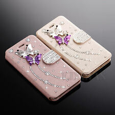 Bling Luxury Diamond Magnetic Wallet Leather Flip Case Cover for Apple iPhone