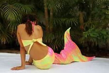 Aquarius swimmable Mermaid tail. Best quality. Monofin included. Handmade by MD