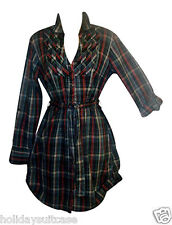 NEW LADIES WOMANS WINTER WARM SEXY LONG TUNIC WORK TOP/DRESS SIZE 8-14 UK