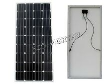 160W Watts PV Mono Solar Panel w/Cable, 15A Solar Controller for 12V RV Home