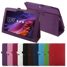 "Flip Floding Stand PU Leather Case Cover For 10.1"" Asus Transformer Pad TF103C"