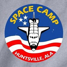 SPACE CAMP Huntsville, ALA T-shirt -adult sizes-many colors- nasa shuttle rocket