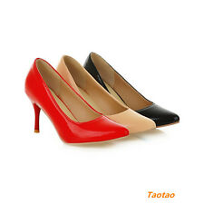 Women's Pumps Stiletto High Heels Classics Pointed Toe Shoes AU ALL Size TDH320