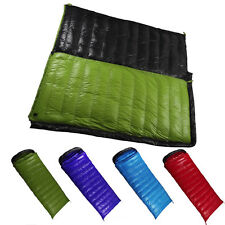 Envelope Camping Travel Duck Down Sleeping Bag Outdoor Ultra Light Waterproof