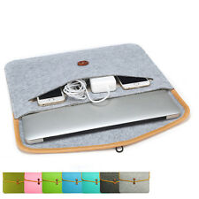 "Notebook Laptop Sleeve Case Carry Felt Bag Cover For 11"" 13"" 15"" Laptop Air/Pro"