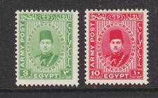 Egypt Sc M14-M15 MNH. 1939 Military Stamps, cplt set,  F-VF