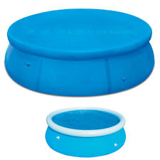INFLATABLE SWIMMING ROUND PADDLING FAST SET POOL COVER 8FT 10FT 12FT 15FT POOLS