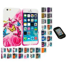 For Apple iPhone 6 (4.7) TPU Design Soft Case Cover Skin Sticky Pad