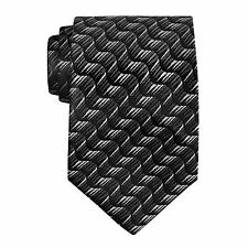Hand Tailored Wooven Neck Tie, Style #L91686-A12