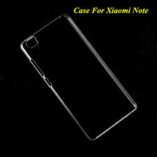 Slim Crystal Clear Transparent Hard Plastic Back Case Cover Skin For Xiaomi Note