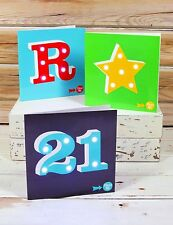 SHOWTIME *LIGHT UP LED CARDS - CHOOSE A LETTER OR BIRTHDAY NUMBER* NEW