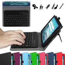For LG G Pad X 8.3 Tablet 4G LTE PU Leather Case Cover Bluetooth Keyboard Bundle