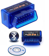 Mini OBD2 ELM327 V1.5 Bluetooth Car Scanner Android Torque Auto Scan Tool OBD-II