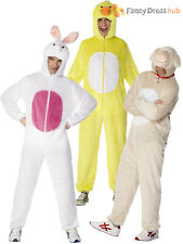Adults Animal Fancy Dress Costume Mens Ladies Farm Onesie Easter Book Week Day