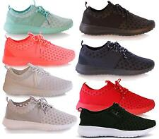 Womens Lace Up Slip On Casual Running Trainers Sports Shoes Flats Pumps