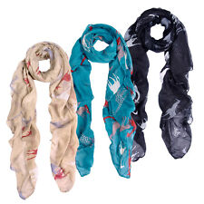 Premium Giraffe Animal Print Scarf - Different Colors Available