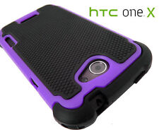 Shock Proof Heavy Duty Defender Protective Tradesman Phone Case For HTC One X