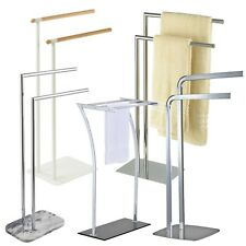 Showerdrape | Free Standing 2 & 3 Bar Bathroom Towel Rails & Stands