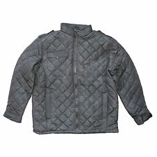 MENS MOTORCYCLE BIKER CAMPING CAMO GREY JACKET w/ POCKET- CLOSEOUT SALE - OA24
