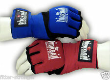 MORGAN GEL HAND WRAPS WRIST GUARDS Boxing Gloves KIMAX MMA Muay Thai S M L XL