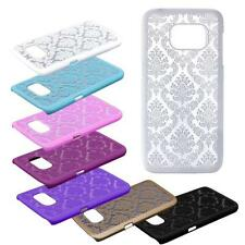Carved Damask Vintage Pattern Skin Hard Case Cover For Samsung Galaxy S7/S7 Edge