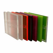 Plastic Acrylic Perspex Sheet Clear Colour Fluorescent Frosted Mirror Tinted