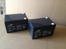 Electric Mobility Wispa Mobility, Wheelchair replacement Batteries x 2