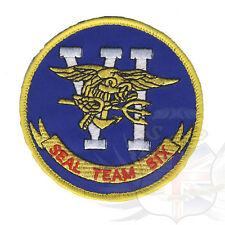 US NAVY SPECIAL FORCES SEAL TEAM SIX VELCRO BACKED PATCH,DEVGRU,JSOC,NSWDG,6