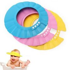 Safe Shampoo Shower Bathing Bath Protect Soft Cap Hat For Baby Children Kids New