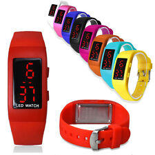 Digital Sport Watch Mens Watch Womens Watch LED Watch Csual Wrist Watch Silicone