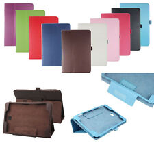 "Leather Protective Case Cover For Samsung Galaxy Tab A T350 8""/Tab A T550 9.7"""