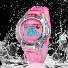 Kids Boys Girls Waterproof Sports Watches Digital LED Wrist Watches Alarm Date