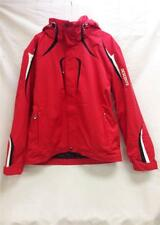 Descente Men Reed Insulated Snow Ski Winter Jacket Red Black XL NEW