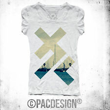T-SHIRT X PATTERN INDIE HIPSTER SWAG FASHION VINTAGE VINTAGE HAPPINESS DK035