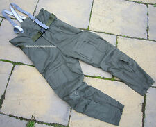 UK RAF AIRCREW COLD WEATHER TROUSERS MK3,SALOPETTES,COSALT/BALLYCLARE,AIR FORCE