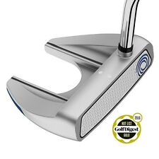 ODYSSEY WHITE HOT RX V-LINE FANG PUTTER W/ FLATSO SUPER STROKE GRIP - NEW 2016