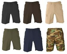 PROPPER MEN'S TACTICAL BDU SHORTS LAW POLICE MILITARY CARGO 65/35 RIPSTOP F5261