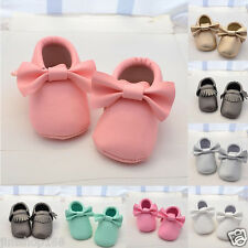 Baby Infant Boy Girl Shoes Toddler Soft Leather Sole Sneakers Shoes 0-18  Month