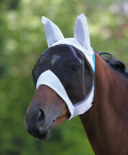Shires Fine Mesh Fly Mask With Ears Small Pony - Extra Full ALL SIZES & COLOURS