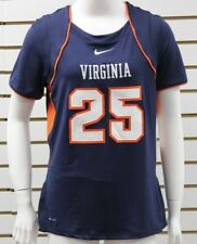 Women's Nike Dri-Fit Virginia Cavaliers Lacrosse Jersey #25 Navy/Orange/White