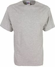 Stock clearance 0R110 Russell T-Shirt men's Short Sleeved Crew Neck Cotton